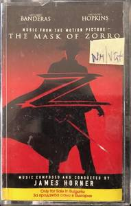James Horner ‎– The Mask Of Zorro (Music From The Motion Picture)