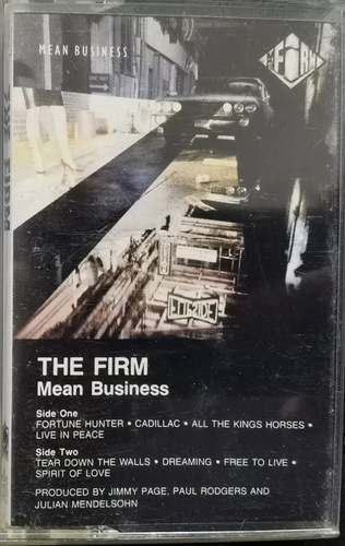 The Firm ‎– Mean Business