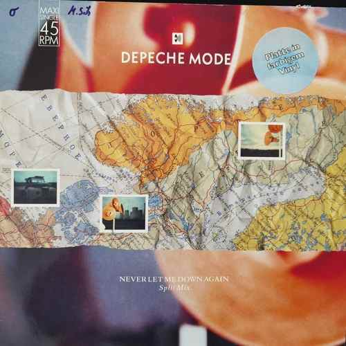 Depeche Mode ‎– Never Let Me Down Again (Split Mix)