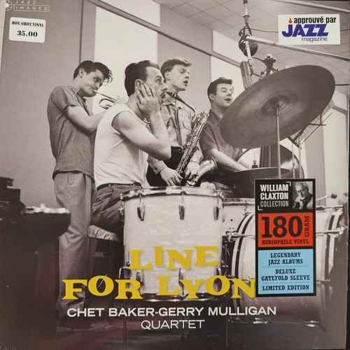 Gerry Mulligan Quartet With Chet Baker ‎– Chet Baker Gerry Mulligan Quartet